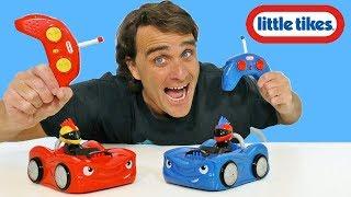 Little Tikes RC Bumper Cars !    Toy Review    Konas2002