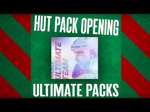 I GOT TROLLED ON CHRISTMAS    NHL 18 HUT Pack Opening - ULTIMATE PACKS