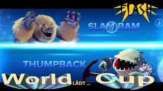 Slam Bam vs Thumpback  - Skylanders World Cup 07 (German/Deutsch)