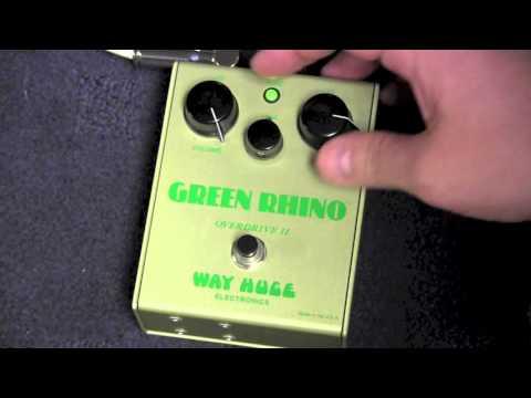 1990s Way Huge Green Rhino Overdrive II Demo