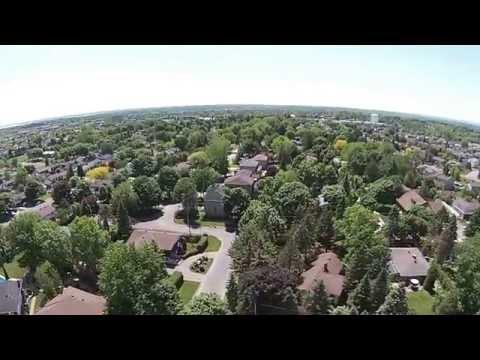 DJI Phanton Vision Plus Kirkland,Quebec, fail safe kicks in