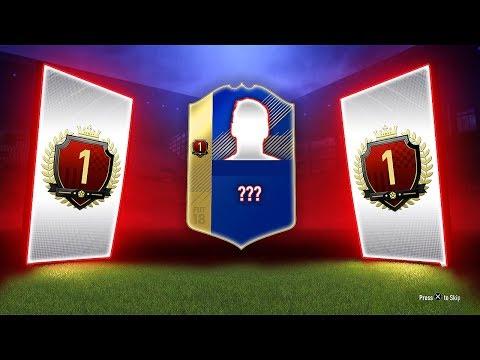 WORLD NUMBER 1 TOTS FUT CHAMPS REWARDS! - FIFA 18 Ultimate Team