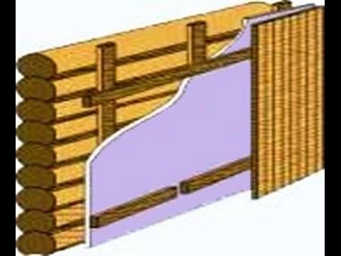 Баня стены утепление снаружи ошибки правила / Bath wall insulation outside the error rule