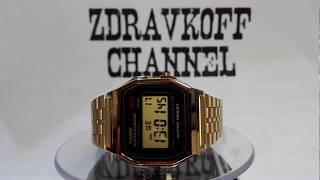 Casio Classics - Casio A159WGEA-1EF watch video 2017