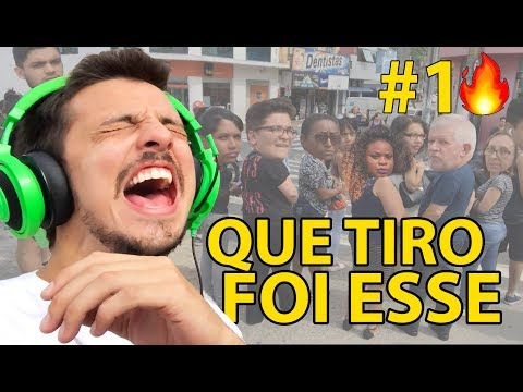 QUE TIRO FOI ESSE! CANTANDO EM PÚBLICO, TROLLANDO PESSOAS - CAIO RESPONDE #91