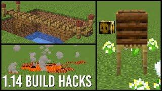 1.14 Minecraft Bauen Hacks