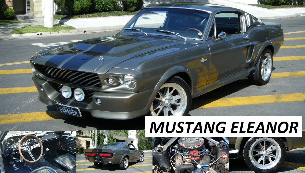 Garagem Do Bellote Tv Mustang Eleanor Youtube