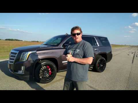 800 HP Cadillac Escalade Test Drive with John Hennessey