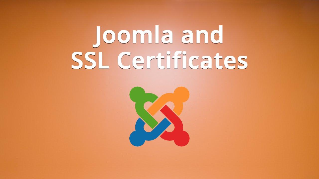 Using joomla and ssl certificates youtube using joomla and ssl certificates 1betcityfo Image collections