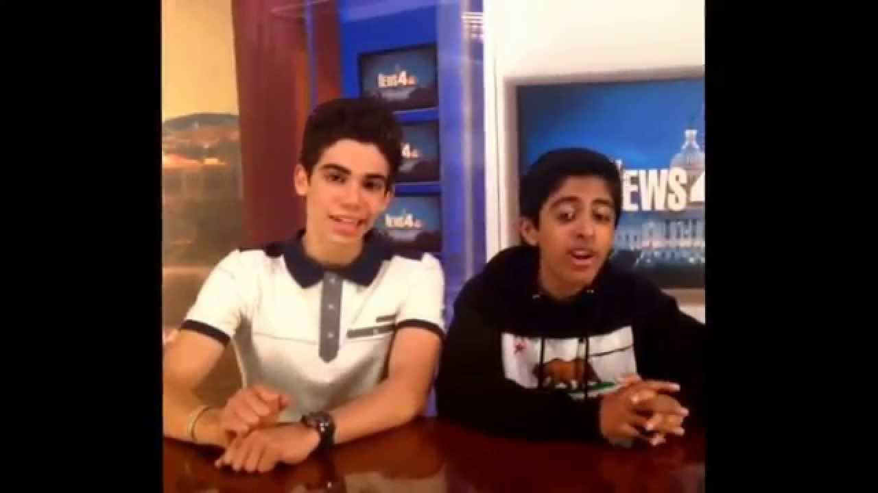 Cameron Boyce and Karan Brar giving the news! - YouTube
