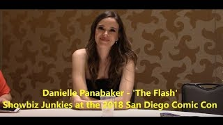 The Flash Season 5 - Danielle Panabaker Interview (Comic Con)