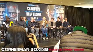 MEAN MACHINE HAPPY TO FIGHT CRAWFORD, WANTS THE BEST; CRAWFORD FULLY FOCUSED ON GETTING THE VICTORY