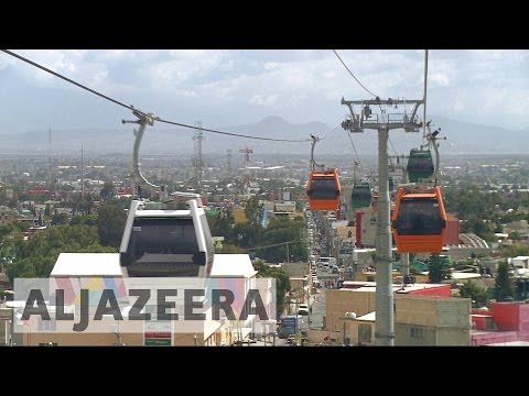 Mexico's new cable cars provide solutions for commuters