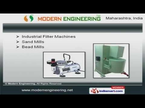 Chemical & Paint Processing Equipment  By Modern Engineering, Mumbai