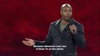 Dave Chappelle on Caitlyn Jenner, Transgenders, Black people and LGBTQ (2017)