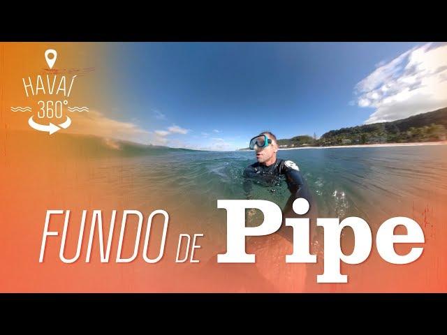 Explore o Fundo de Pipeline em 360º | Havaí 360° | Canal OFF