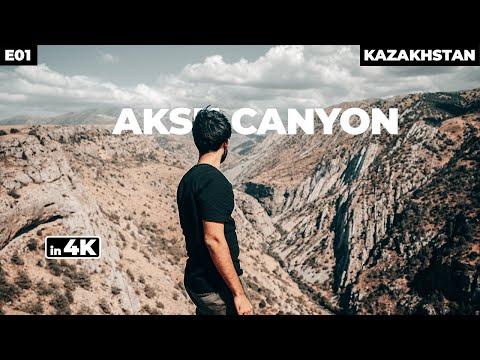 AKSU CANYON - KAZAKHSTAN 🇰🇿 | Point Of View Series | Part 1 - 4K