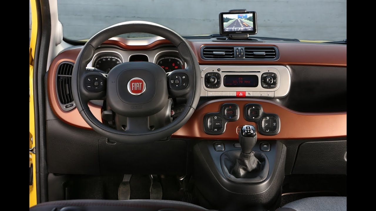 Interieur Fiat Panda 1 New Fiat Panda Cross Interior 15 Photos Youtube
