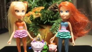 Клуб Винкс - Збірка #7 Сюрпризи іграшки розпакування Мультики про фей російською Winx Club