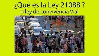 PODCAST 01 ¿Qué es la Ley 21088? o Ley de convivencia vial.