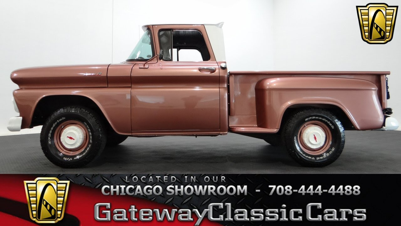 1961 Chevrolet C10 Gateway Classic Cars Chicago 1032 Youtube Pick Up