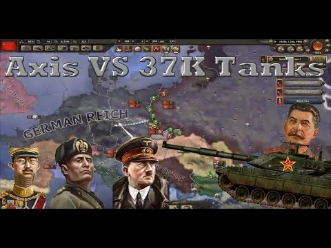 Destroying The Axis with 37K Soviet Tanks |