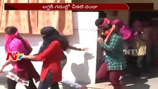 Hi -Tech Prostitution in Hyderabad Star Hotels || Delhi Based Model Arrested || NTV