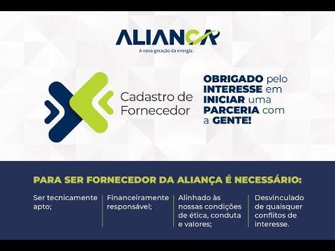 Fornecedores - Aliança Energia