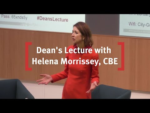 Cass Business SchOOL Dean's Lecture with Helena Morrissey