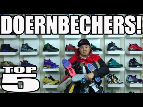 TOP 5 DOERNBECHER SNEAKERS!