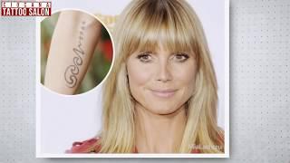 Ciocana - Tattoo Salon - Татуировки звезд шоу бизнеса 2 (в честь детей)