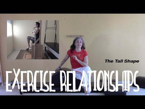Exercise Relationships in the Pilates Method PART 2: The Tall Shape