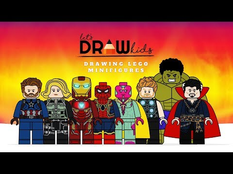 Avengers Infinity War Cover Coloring Page Marvel Lego