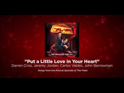 """""""Put a Little Love in Your Heart"""" - Studio Version - The Flash/Supergirl Musical Crossover"""