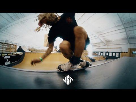 Franky Morales, E.Rod & Damon Franklin @ Woodward West - USD Skates