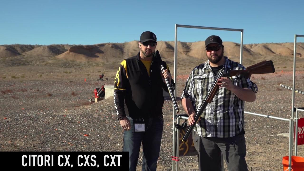 Citori CX, CXS, CXT — 2018 SHOT Show