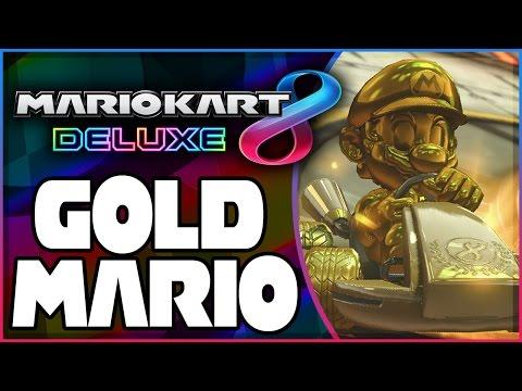 How To Unlock Gold Mario In Mario Kart 8 Deluxe!