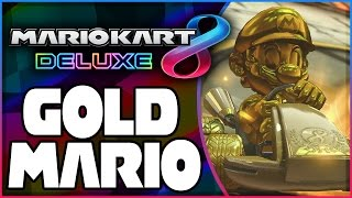 How To Unlock Gold Mario In Mario Kart 8 Deluxe!