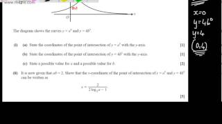 q8 core 2 c2 ocr may june 2013 as past maths paper exam mathematics solutions