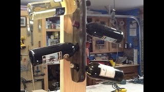 One Stick Wine Rack