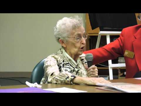 Mrs. Nita Sloma remembers the Dec. 7, 1941 Japanese Attack on Pearl Harbor