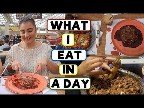 ΤΙ ΕΦΑΓΑ ΣΗΜΕΡΑ   WHAT I EAT IN A DAY - VLOG