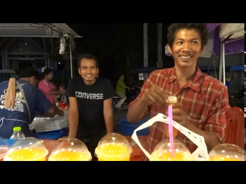Exotic fruits in Thailand,Thai Street Food