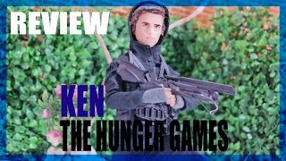 Barbie Review  - Ken The Hunger Games - Gale (Ken Jogos Vorazes)