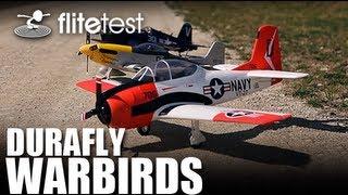 Flite Test - Durafly Warbirds - MONTAGE