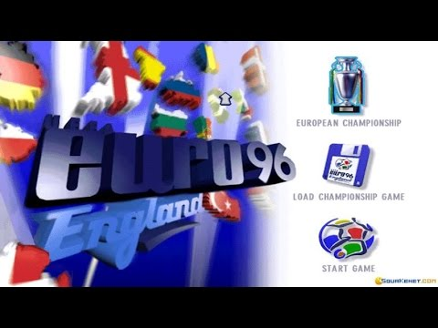 UEFA Euro 96 England Gameplay (PC Game, 1995)