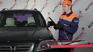 Auswechseln Warnkontakt Bremsbelagverschleiß HONDA CR-V: Werkstatthandbuch