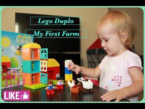 Lego Duplo My First Farm 10617  Unboxing and Building  Обзор Моя первая ферма