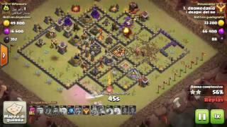 Clash of Clans - Guida quali truppe mettere in difesa nel castello in war