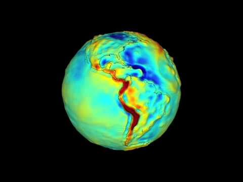 GRACE Gravity Model of Earth